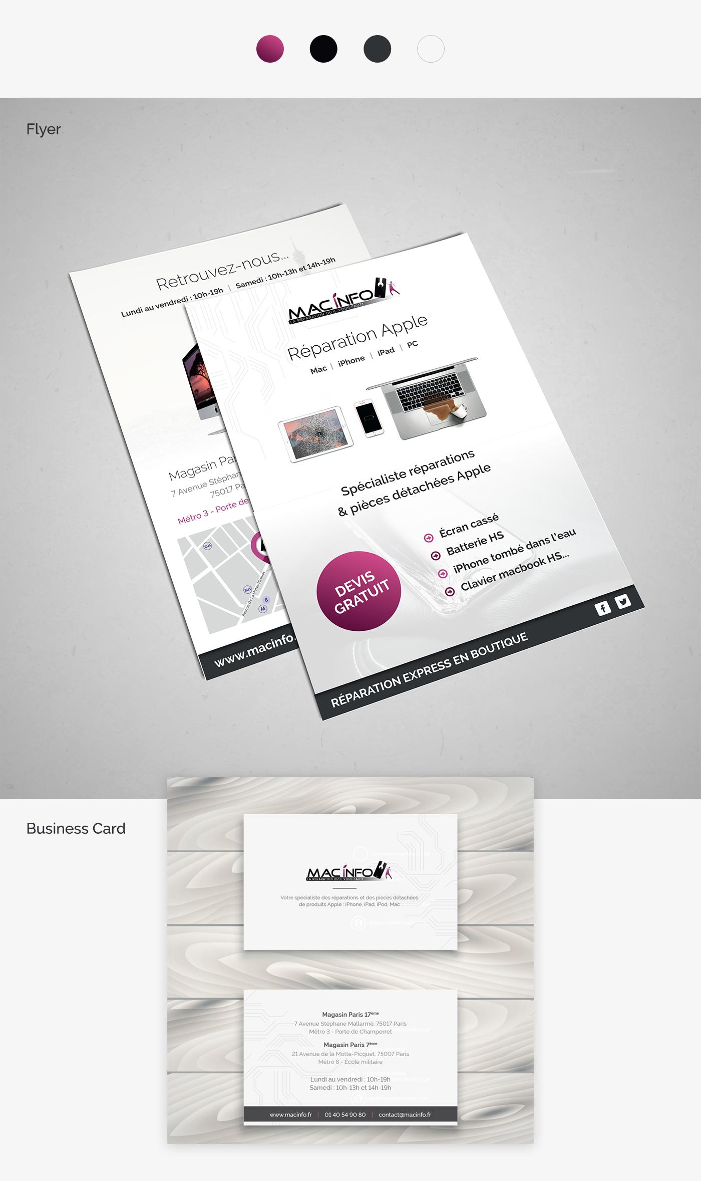 macinfo flyer project