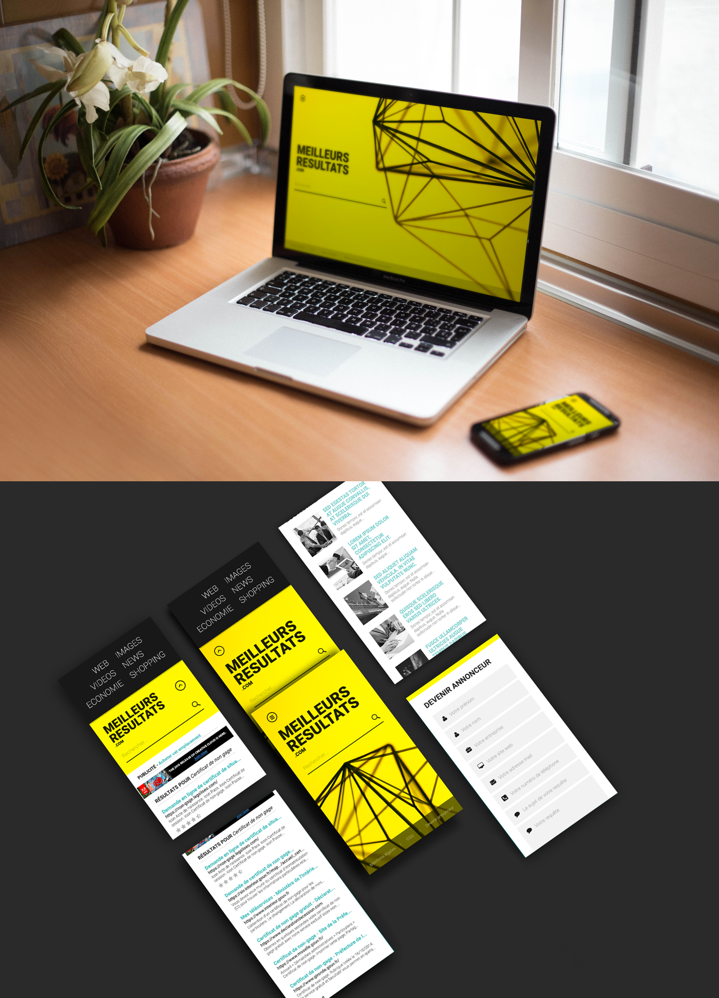 yellow search engine project