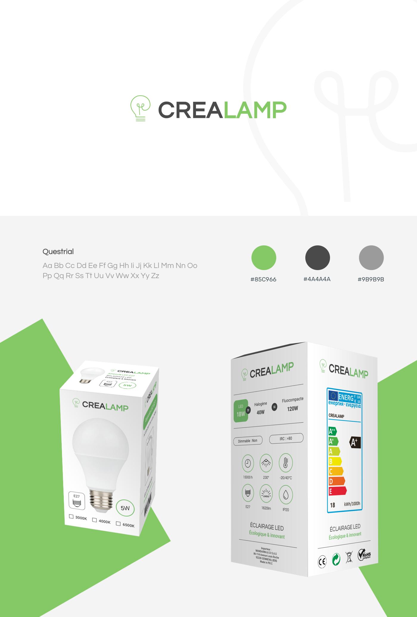 Crealamp project