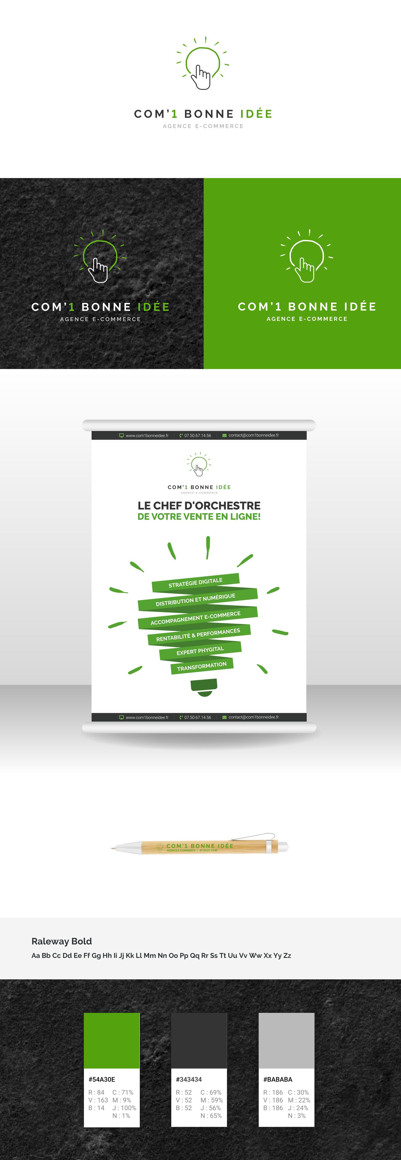 Logo PLV Com 1 bonne idée