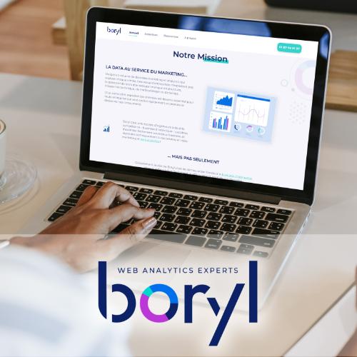 Boryl logo website project